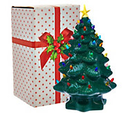 Mr. Christmas 14 Nostalgic Tabletop Tree w/ Super Bright LED Lights - H208544