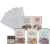 Poo-Pourri S/5 Holiday Cards with 4 mL Original and Envelopes