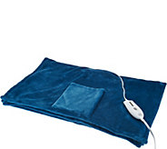Serta Perfect Sleeper 74 x 26 Heated Wrap with Pockets - H209844