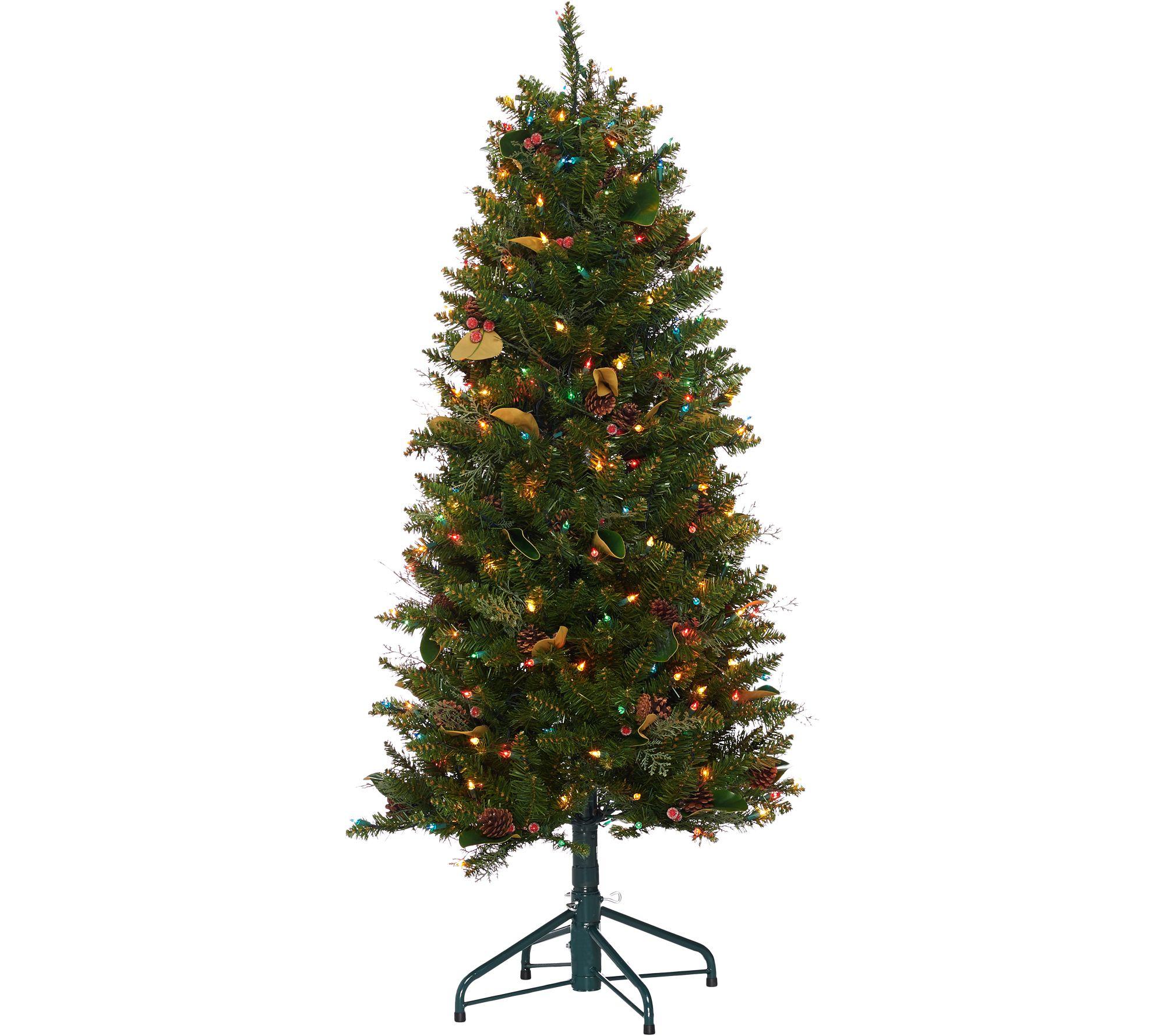 """""""As Is"""" Bethlehem Lights 5' Canterbury Slim Christmas Tree"""