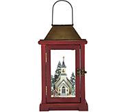 Choice of 15 Illuminated Lantern with Winter Scene by Valerie - H212144