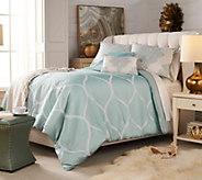 Fielder Home 4- Piece Twin Ogee Jacquard Comforter Set - H215444