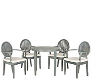 Safavieh Chino 5-Piece Outdoor Dining Set - H286244