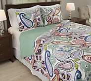 Lavish Home Lizzie 3-Piece King Quilt Set - H288944