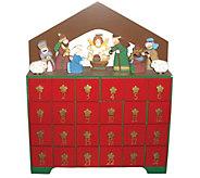 Nativity Advent Calendar by Santas Workshop - H289544