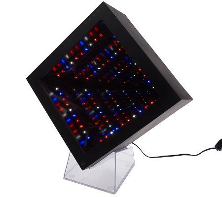 Can You Imagine Infinity Optics Mirror W Led Lights