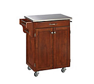 Home Styles Create-A-Cart Cherry Base w/ Stainlss Top Sm - H150845