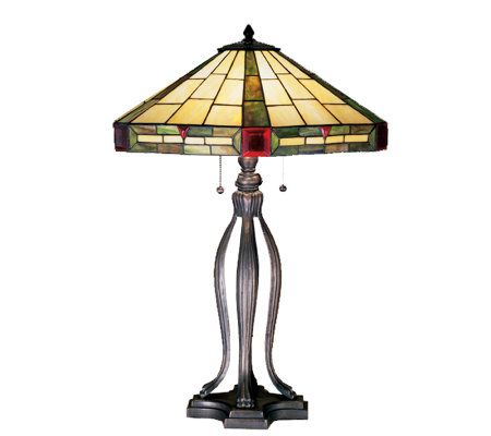 Tiffany-Style Wilkenson Table Lamp — QVC.com