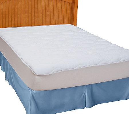 Sealy Posturepedic TW Pillow Top Mattress Pad — QVC