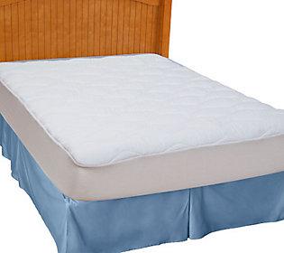 Sealy Posturepedic Tw Pillow Top Mattress Pad Qvc Com