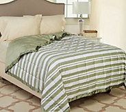 Northern Nights Montauk Stripe 300TC 550FP Reversible FL Down Blanket - H206745