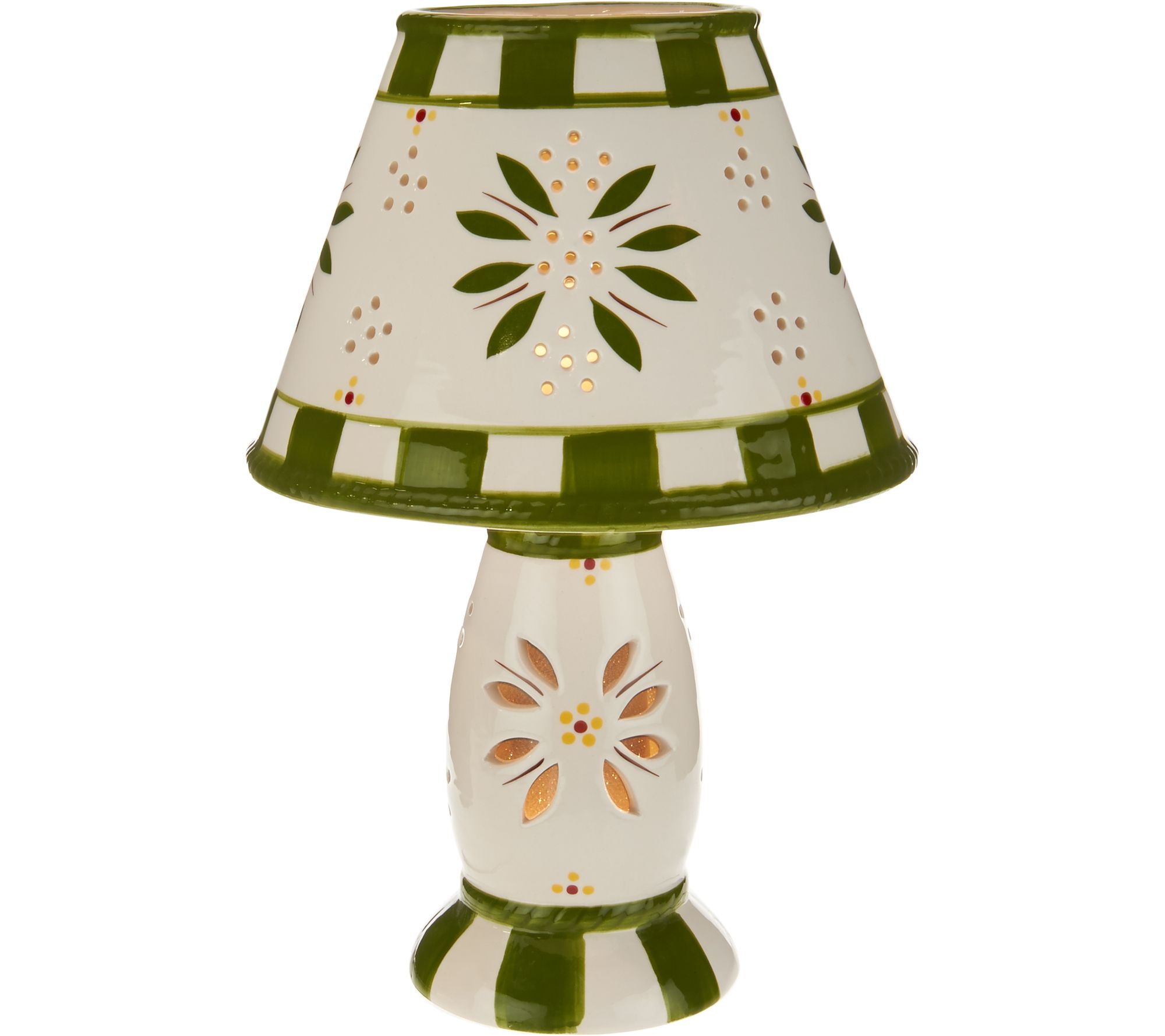 Temp tations 8 LED Battery Operated Old World Lamp Page 1 QVC