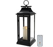 Ships 1/22/2017 Luminara 19 Heritage Indoor Outdoor Lantern w/ Candle - H211645