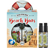 Poo-Pourri Beach Bum Set with (2) 2oz. Bottles and (2) 4mL Bottles - H211945