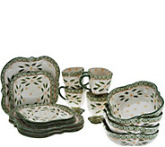 Temp-tations Old World 16-Piece Square Dinnerware Set - H212345