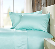 Northern Nights 700TC 100Cotton Wrinkle Defense Sheet Set w/ Dot Hem - H212545