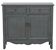Two-Drawer Two-Door Cupboard with Hardware Detail by Valerie - H215445