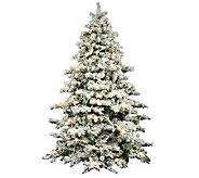 12 Flocked Alaskan Pine Tree by Vickerman - H286445
