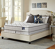 Serta Glisten Plush King Mattress Set - H286545