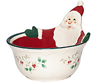 Pfaltzgraff Winterberry Figural All-Purpose Bowl, Santa - H287145