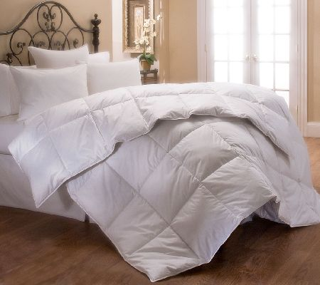 Stearns foster 400 tc pima cotton sateen queen comforter for Pima cotton comforter