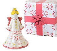 Temp-tations Pink Ribbon Angel Bell with Gift Box - H287645
