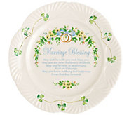 Belleek Marriage Blessing Plate - H296245