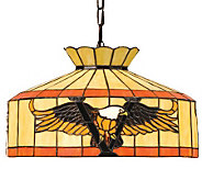 Tiffany Style 16W Victory Eagle Swag Pendant Light - H181246