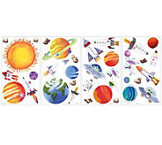 RoomMates Outer Space Peel & Stick Wall Decals - H186246