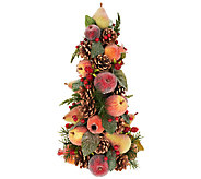 Beaded Fruit Tree with Pinecones, Berries, and Eucalyptus - H203546