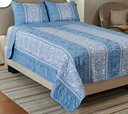 Girardot 100Cotton F/Q Reversible Quilt Set - H205846