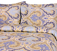 100Cotton Milano Print Full/Queen Duvet Coverand Shams Set - H285046