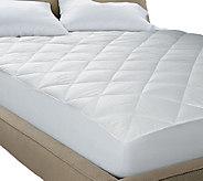 Blue Ridge Quiet Cotton Waterproof 250TC Twin Mattress Pad - H286146
