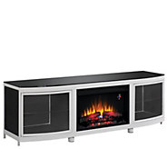 BellO Gotham Infrared Electric Fireplace MediaHeater - H290446