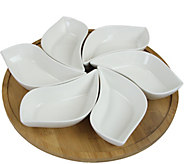 Elama Signature 13.5 7-pc Appetizer and Condiment Server Set - H291846