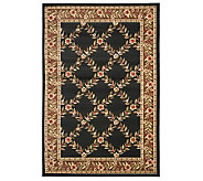 Lyndhurst Open Floral Power Loomed 53 x 76Rug - H356846