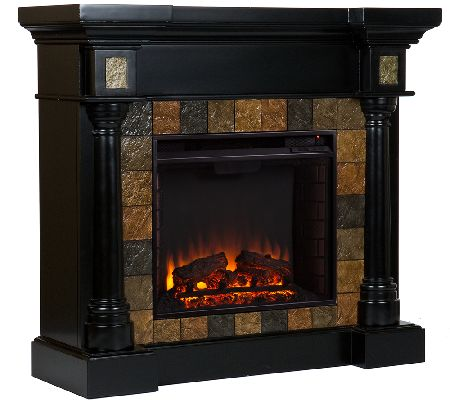 Wellington Electric Fireplace — QVC