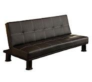 Quinn Bonded Leather Futon Sofa - H365246