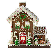 Choice of Illuminated Gingerbread Houses by Valerie - H203147