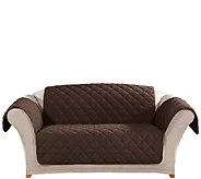 Sure Fit Microfleece Loveseat Furniture Cover - H204347