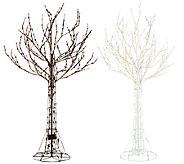 Santas Best All-Season Outdoor/Indoor Prelit Tree w/ RGB Technology - H205347
