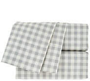 Isaac Mizrahi Live! Home 100Cotton Gingham Full Sheet Set - H208647