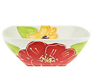 As Is Laurie Gates Alessia 9.5 Square Serving Bowl - H209347