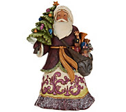 Jim Shore Victorian Christmas Santa Figurine - H209647