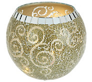 As Is Mosaic Bowl with Micro Lights by Valerie - H210247