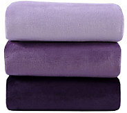 Berkshire (3) 50x70 Gradient Color Velvet Soft Throws - H212247