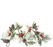 4 Garland with Berries, Holly Leaves, and Pinecones by Valerie - H212547