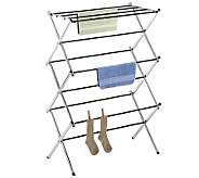 Whitmor Chrome Folding Drying Rack - H280747