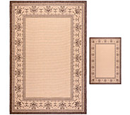 Safavieh Courtyard Indoor/Outdoor 2-Piece Rug Set - H283247