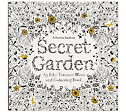 Chronicle Books Secret Garden Adult ColoringBook - H288147